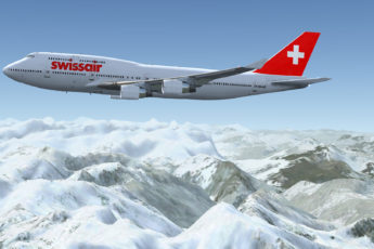 swissair jumbo